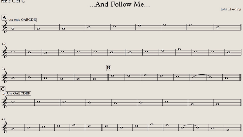 ...And Follow Me...
